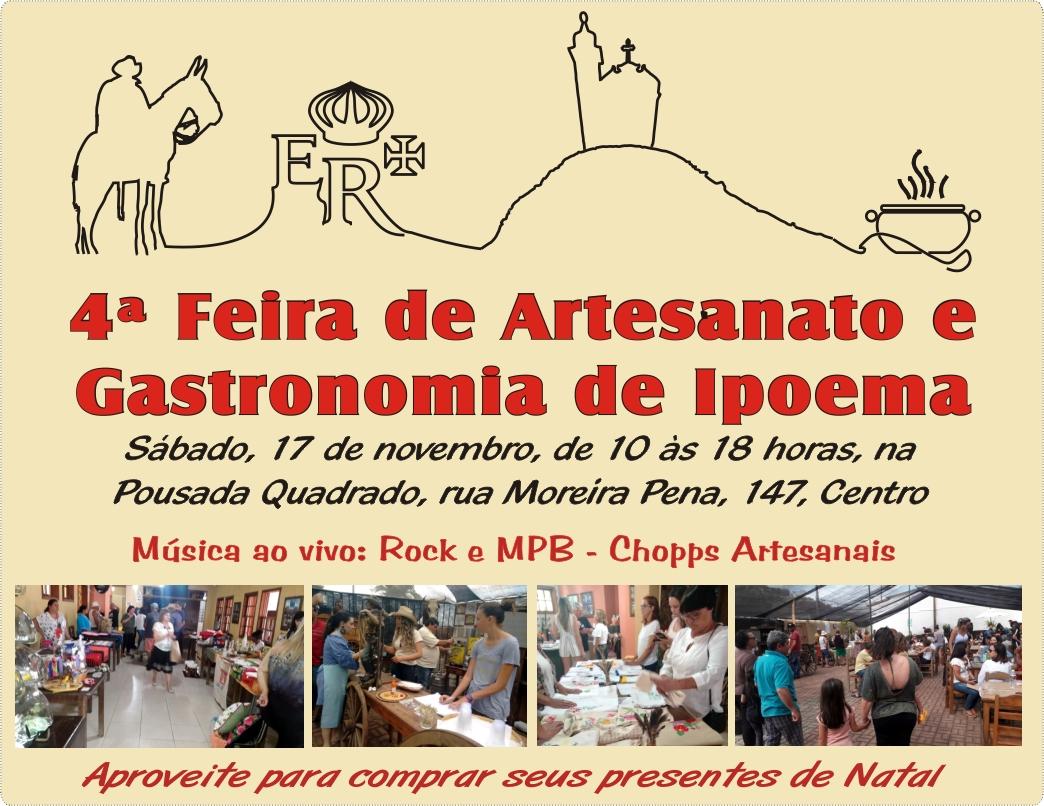 4ª Feira de Artesanato e Gastronomia de Ipoema