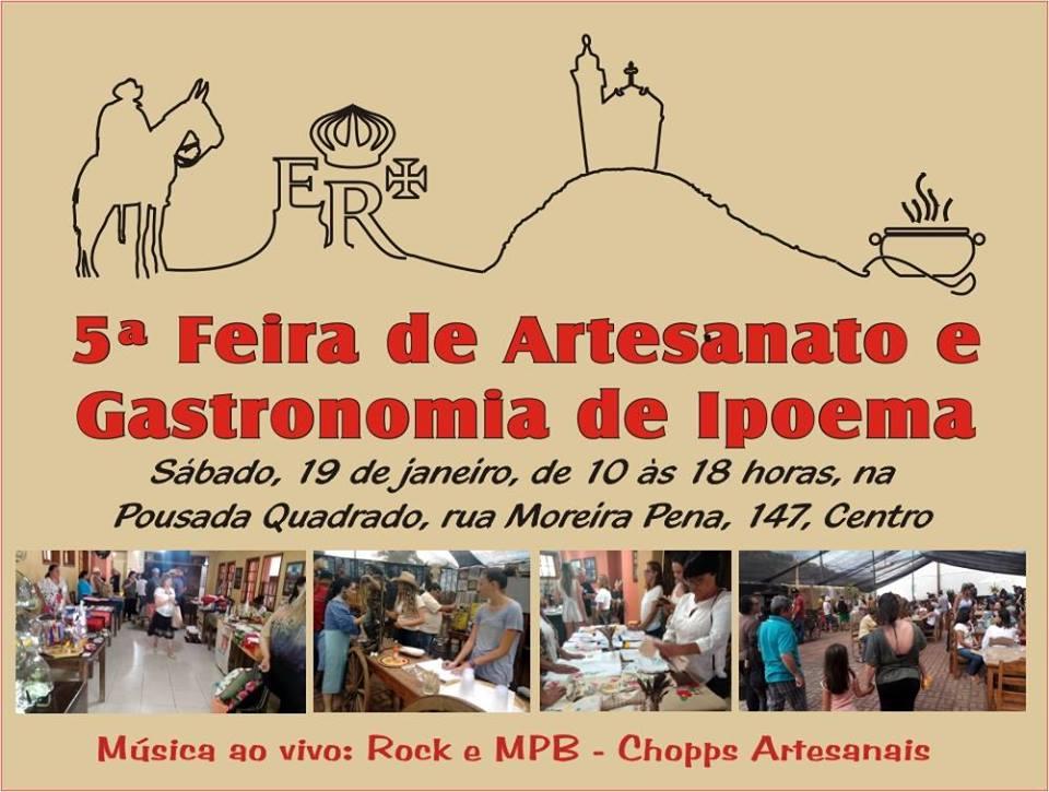 5ª Feira de  Artesanato e Gastronomia =
