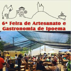 6ª Feira de Artesanato e Gastronomia de Ipoema