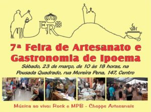 7ª Feira de Artesanato e Gastronomia de Ipoema